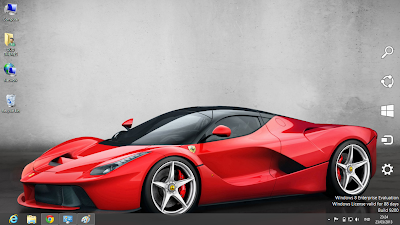 LAFerrari Car Windows 8 Theme