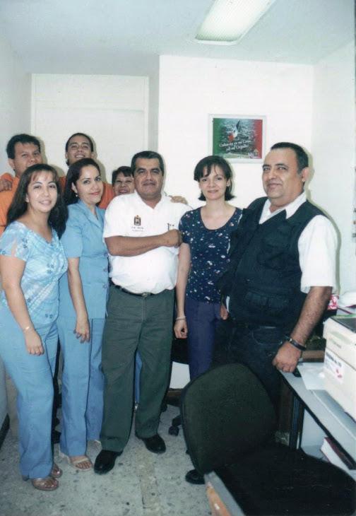 En la Unidad de Integración de Información 2001