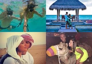 """Quem acompanha o mundo das celebridades já percebeu que alguns destinos andam na moda quando o assunto é lua de mel. Nos últimos tempos, o """"bonde todo"""" anda curtindo os primeiros dias do casamento nas Ilhas Maldivas, em Dubai, Abu Dhabi e outros lugares similares. Escolher o lugar certo é apenas o primeiro passo para ter uma lua de mel ao estilo dos famosos"""