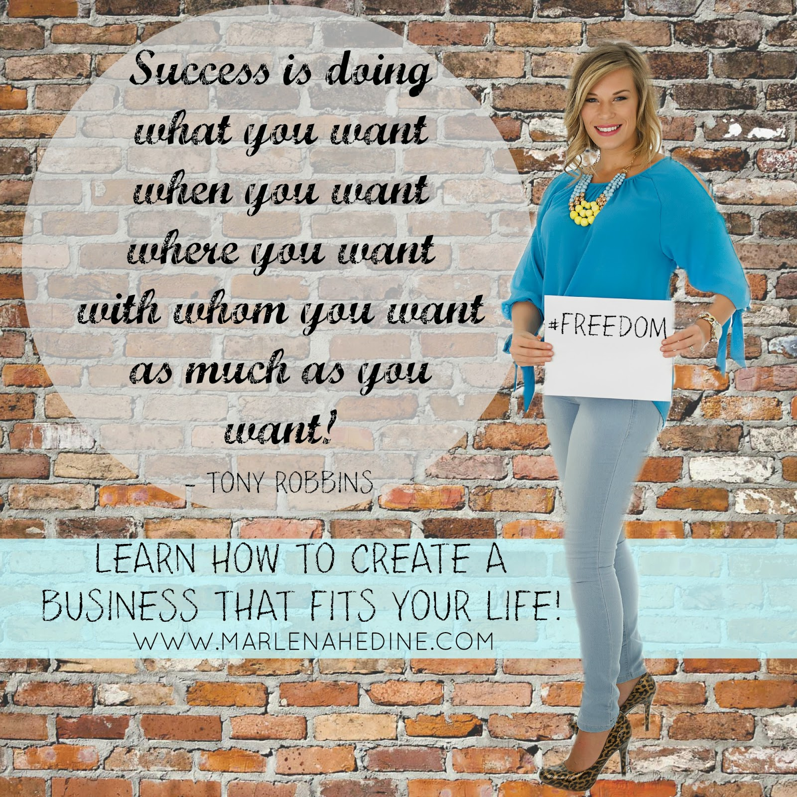 learn how to create a business that fits your life