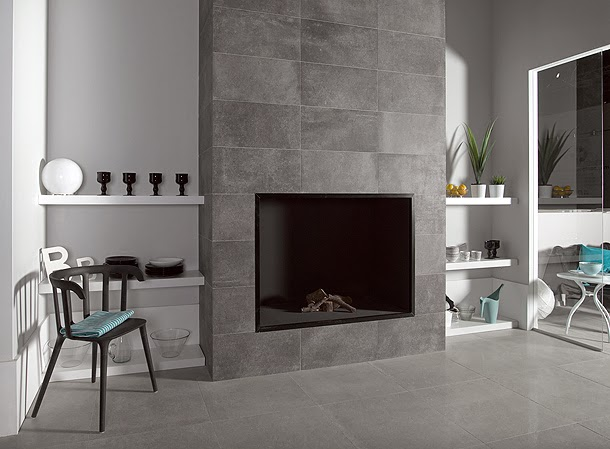 Marzua pavimento porcel nico de keraben aires urbanos en - Pavimentos ceramicos interiores ...