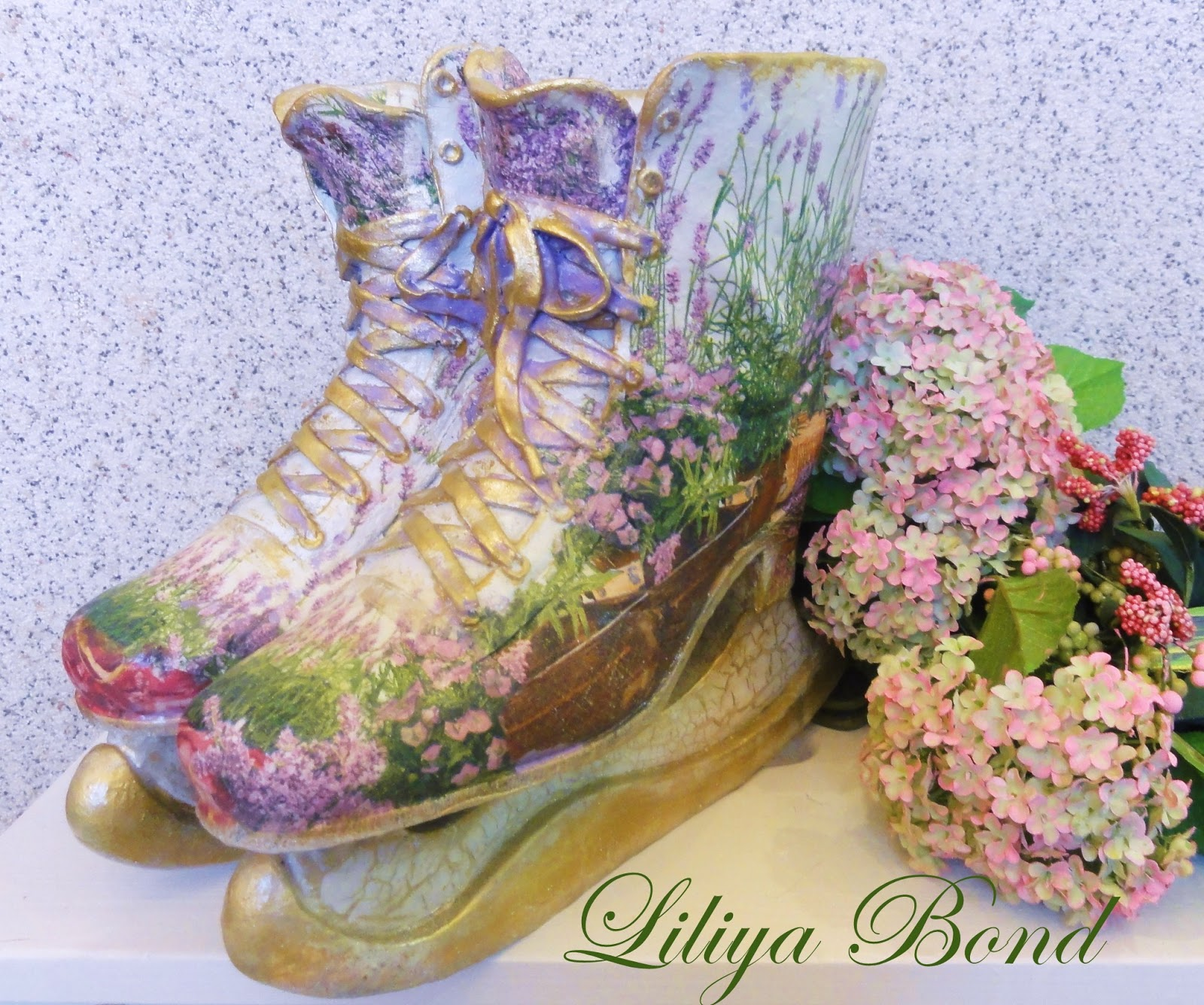 Интерьер цветочный салон