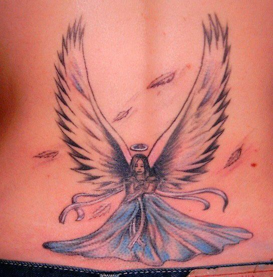 Popular Angel Tattoos Design
