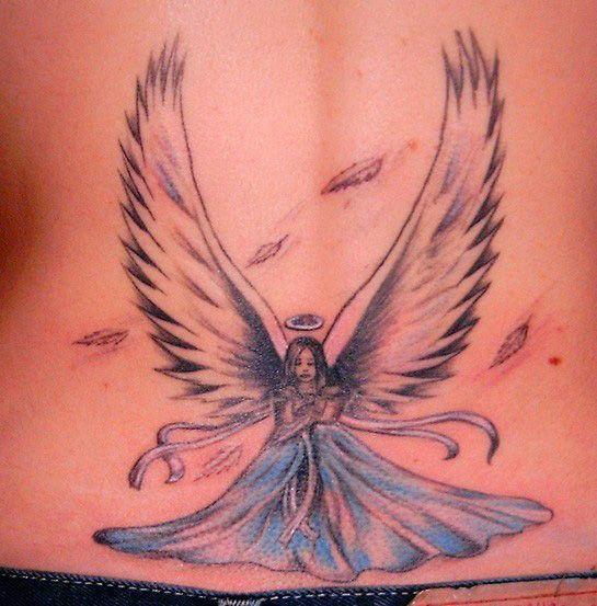 Tattoo Designs Angel: Tattoo File: Popular Angel Tattoos Design