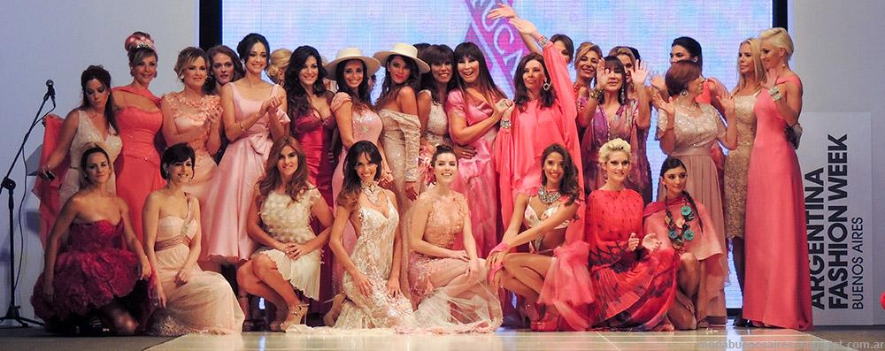 Cuidarse esta de Moda - Desfile Fuca - Argentina Fashion Week primavera verano 2015.