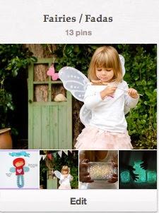 painel fairies fadas pinterest parangole