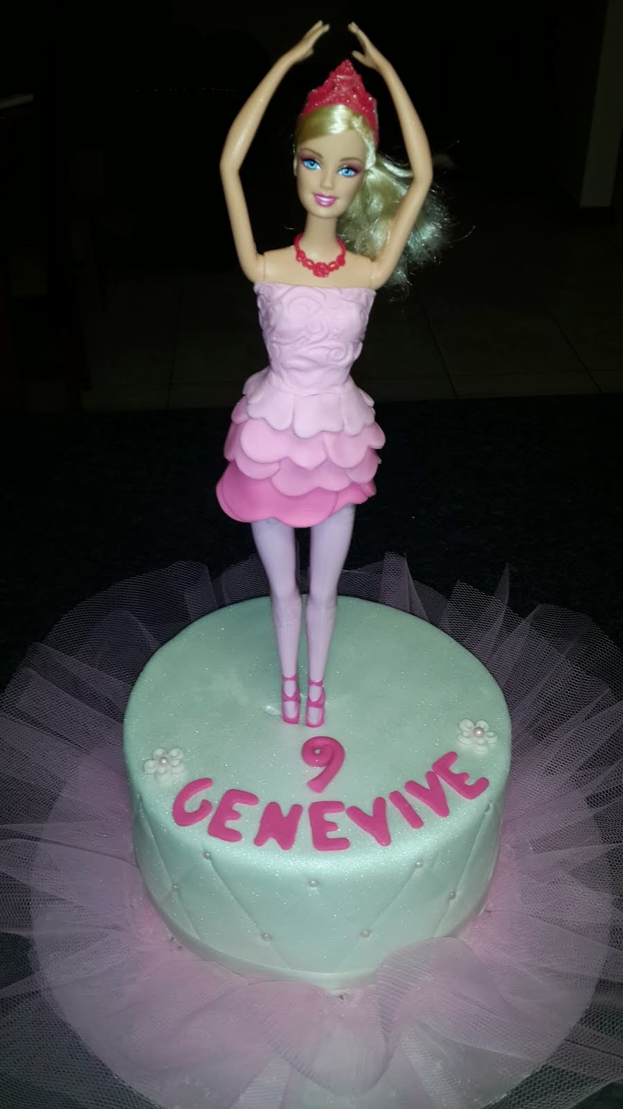 Barbie Ballerina Cake