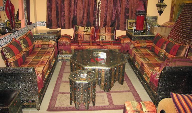 Salons du maroc et d coration orientale le choix d 39 un - Salon oriental pas cher ...
