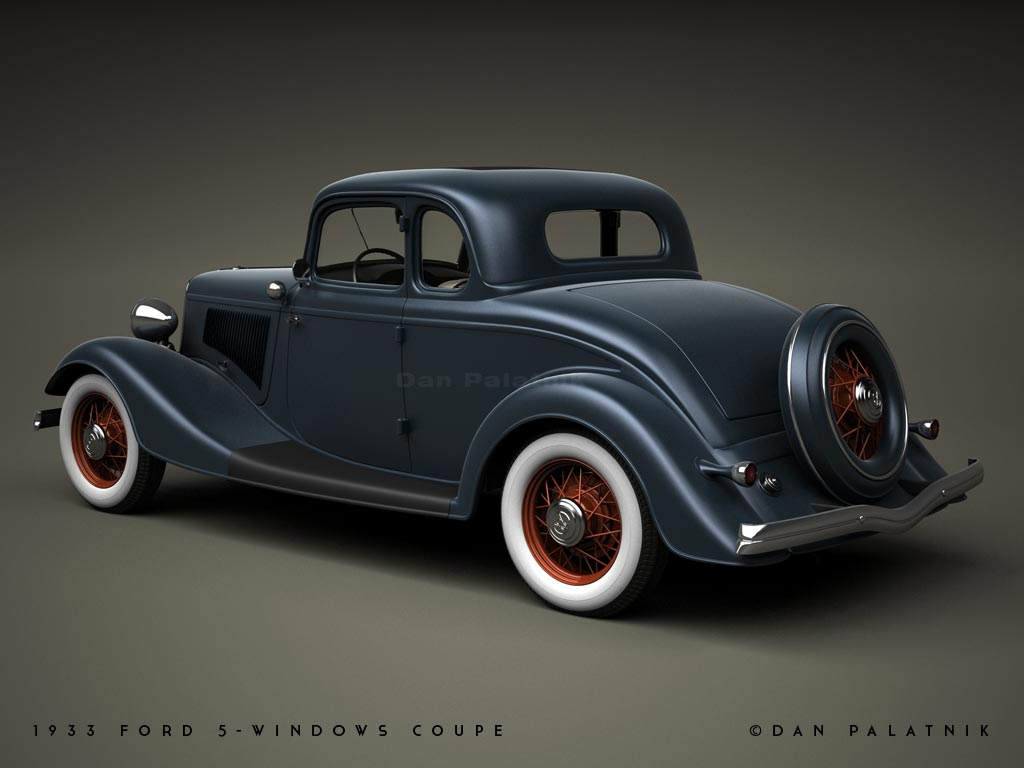 A garagem digital de dan palatnik the digital garage for 1933 ford 5 window coupe