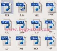 Macam-macam Format File Audio