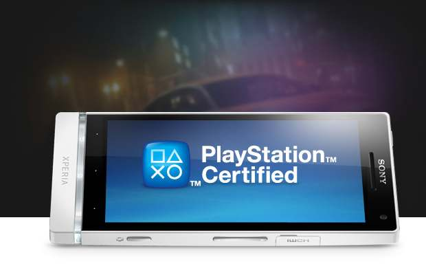 sony xperia sl playstation certified