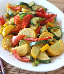 zucchini stir fry recipe with japanese seven spice