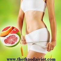 giảm cân hiệu quả với trái bưởi