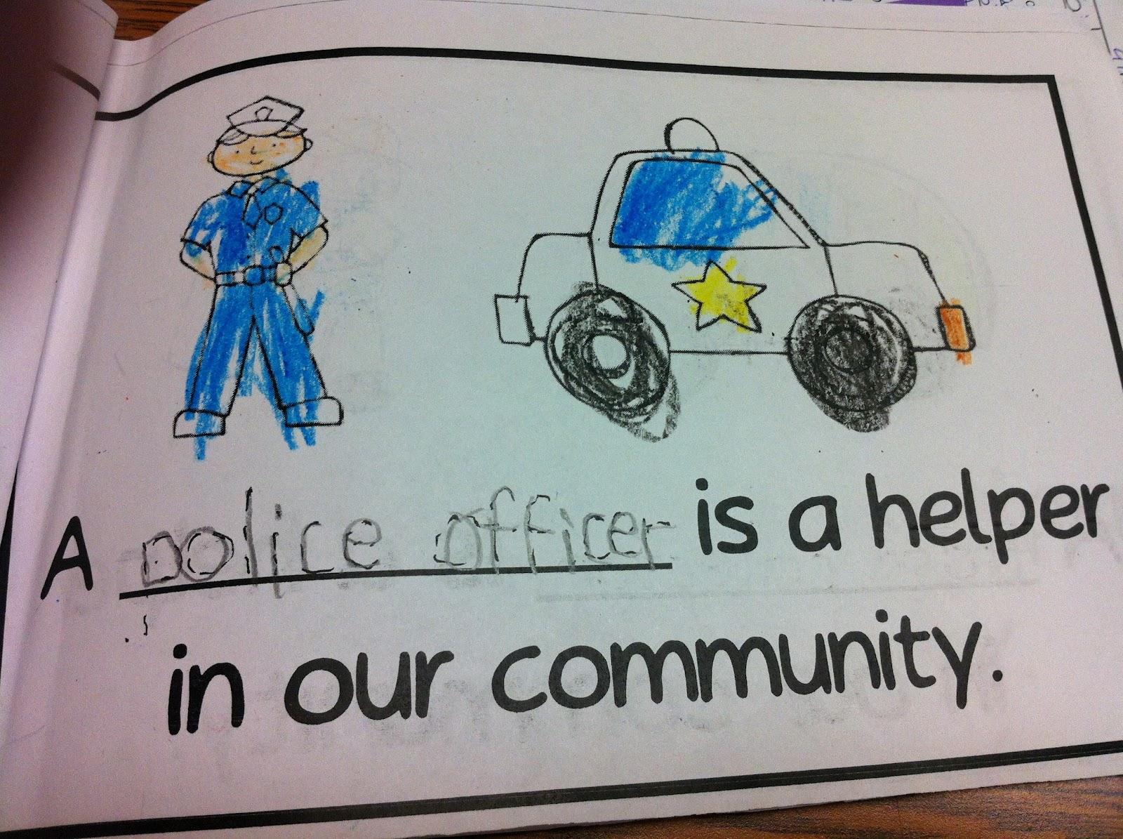 The Adventures of a K/1 Teacher: Community Helpers