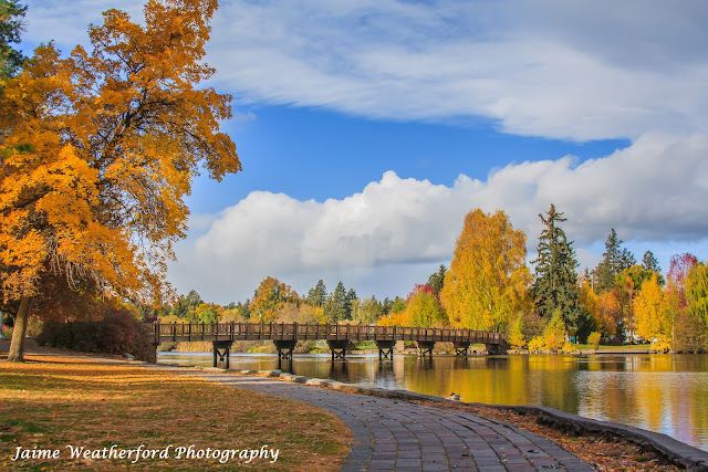 Fall Drake Park Fall Autumn Bend oregon drake park Jaime Weatherford