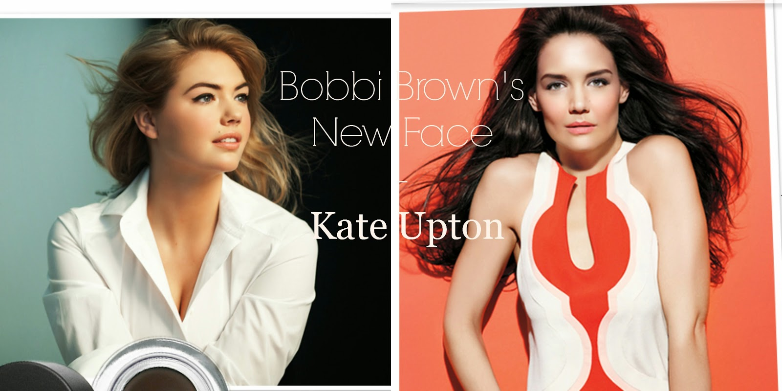 pics Katie Holmes the new face of Bobbi Brown cosmetics
