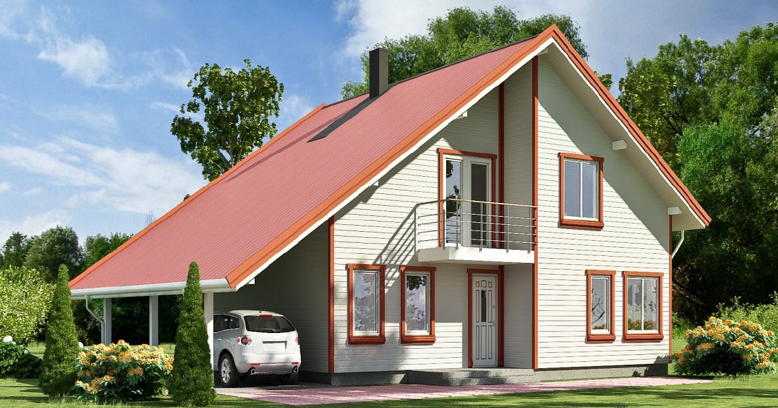 A frame house plans timber frame houses for Wooden home plans