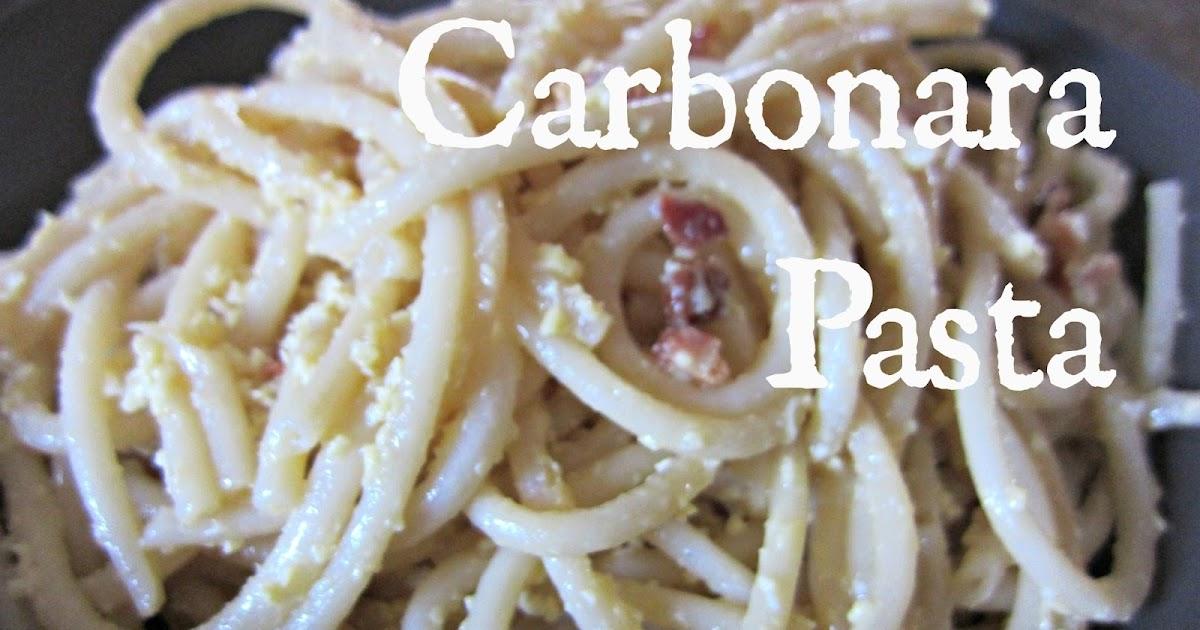 how to make carbonara cheap