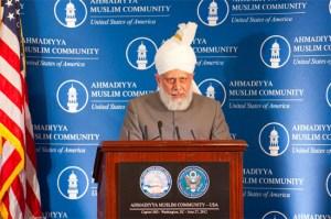 Pidato Perdamaian dunia Mirza Masroor Ahmad