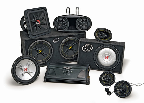 Eb Audio  We Sale Kicker Car Audio System