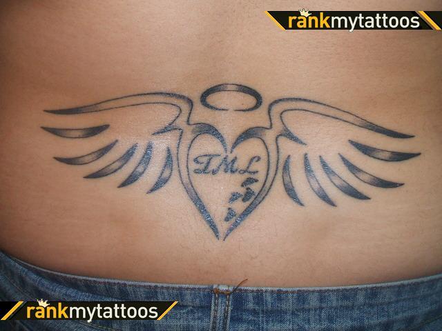 Tattoos back tattoos tribal lower back tattoos for Lower back tribal tattoos
