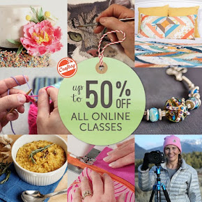 Classes at Craftsy make great gifts