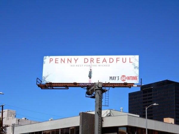 Penny Dreadful series 2 billboard