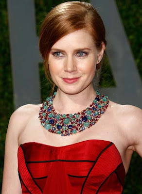 Amy Adams Beaded Gemstone Collar Necklace