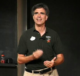 Randy Pausch during his last lecture