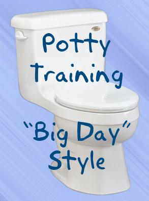 Big day potty training zones