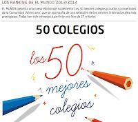 marketing educativo los 50 mejores colegios comunidad valenciana 2013-14