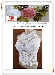 Receita Top Cropped Valentina