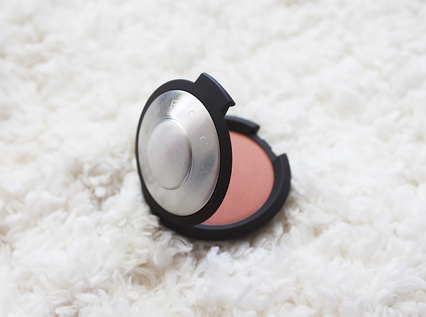 becca mineral blush damselfly review