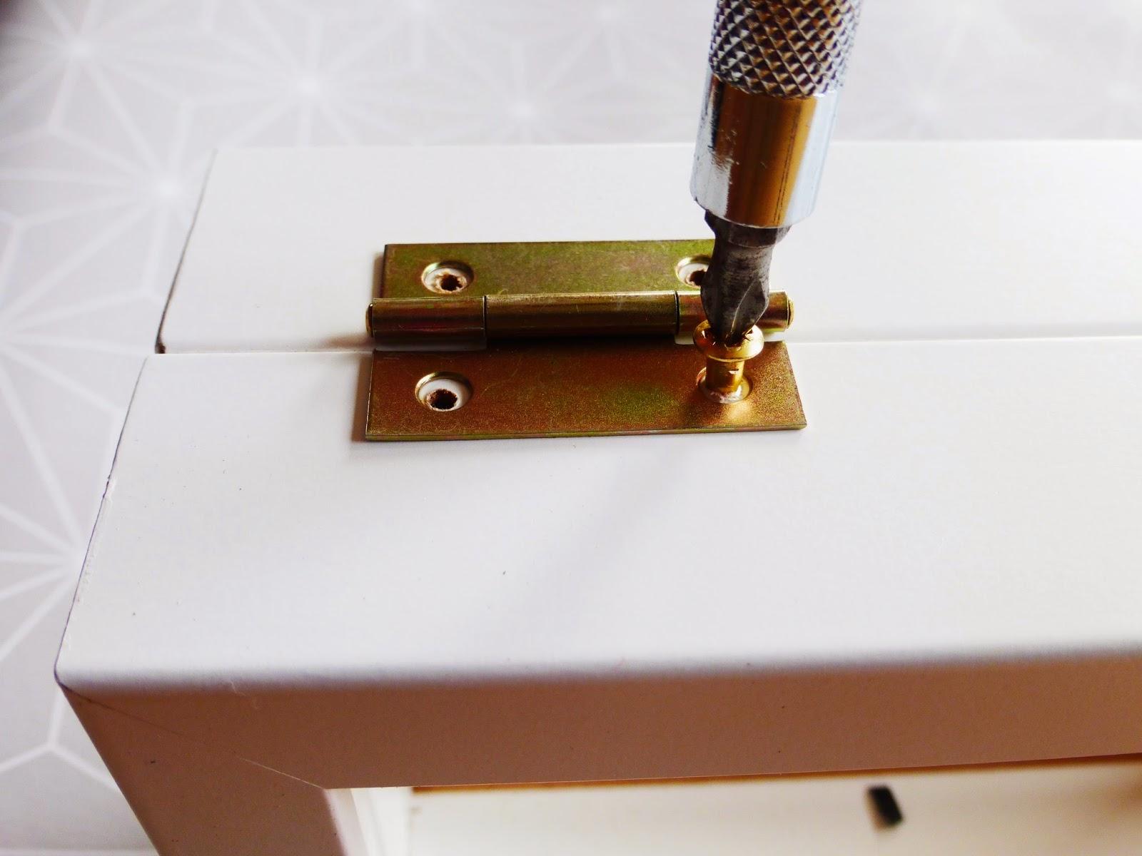 Anleitung Ikea-Hack Schmuckkästchen Ribba Bilderrahmen 4