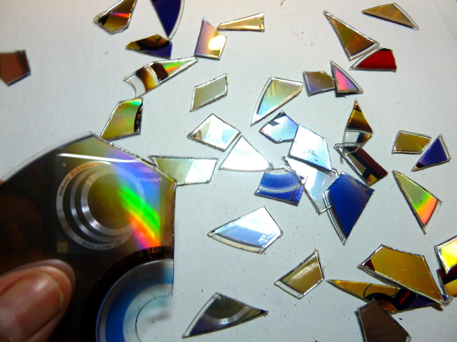 Как сделать поделки из дисков