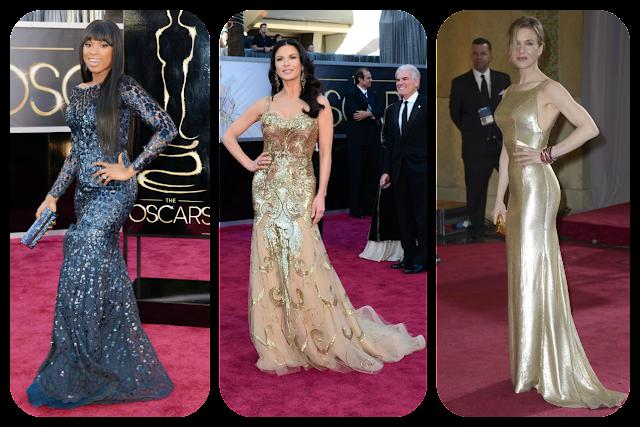 Oscars 2013: Jennifer Hudson, Catherine Zeta Jones and Renee Zellweger