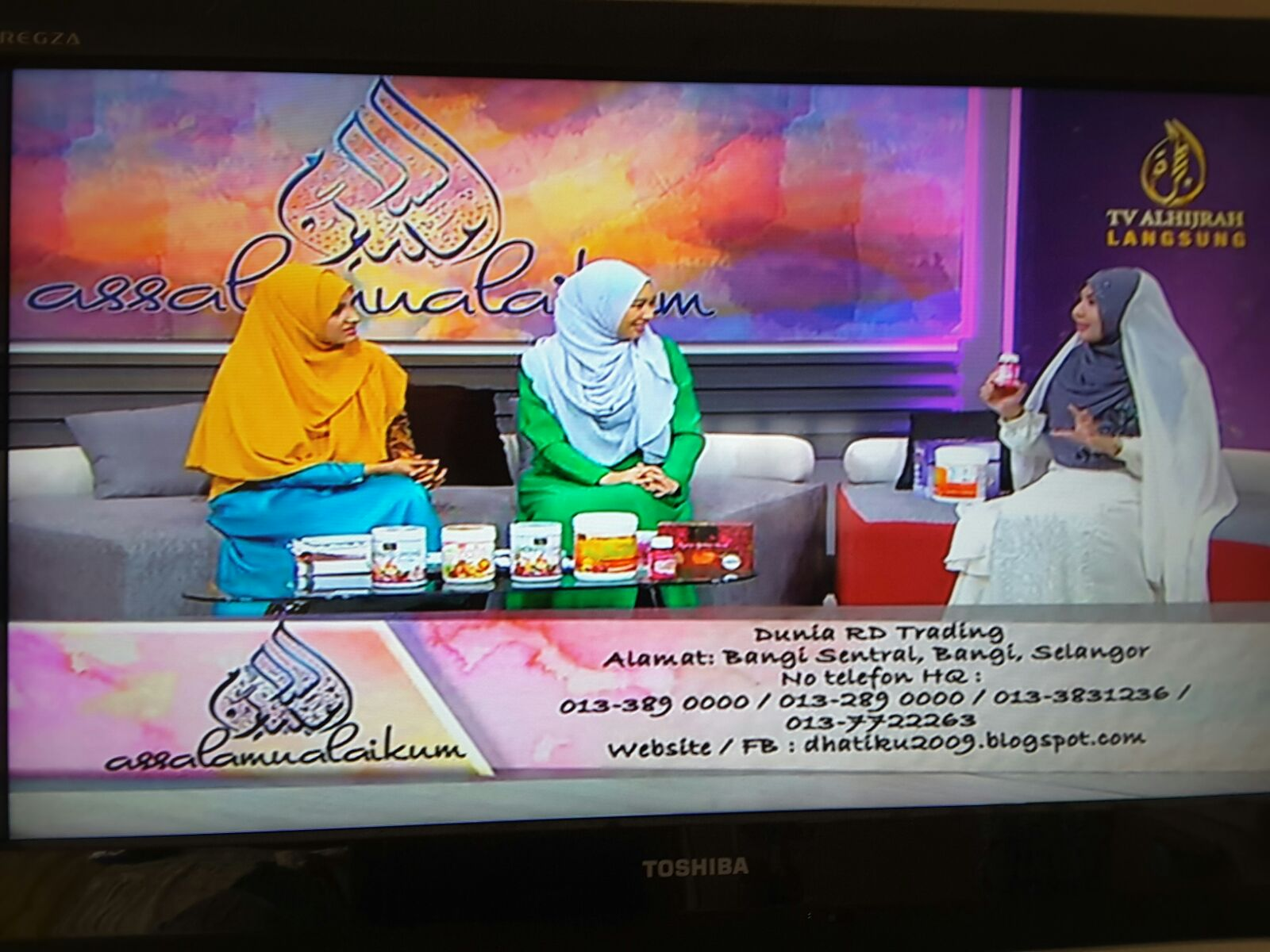 Live TV Hijrah 18.10.2015