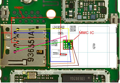 x2 00 light ic diagram ic mmc nokia x2 00