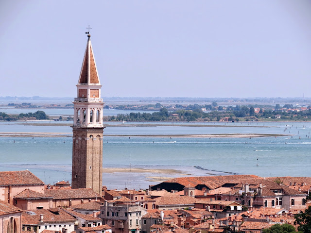 Venice bell tower view