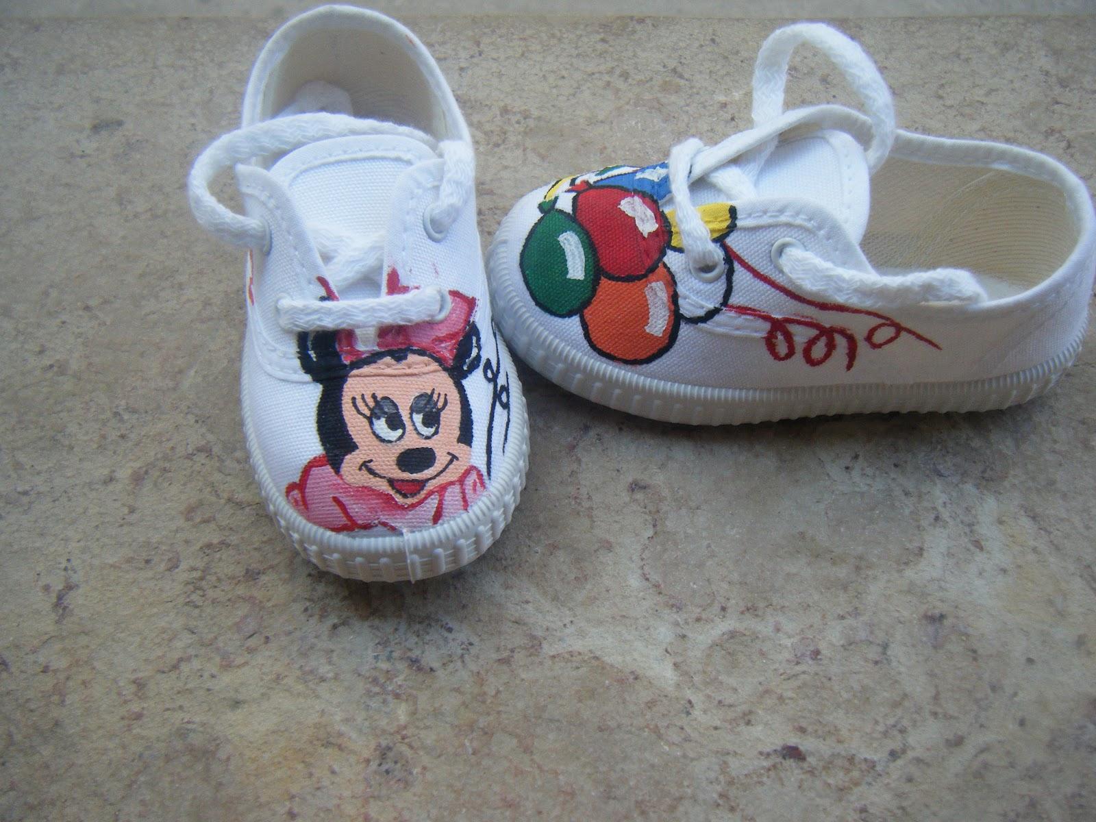 Victoria Personalizadas Customizadas Zapatillas Y Minnie twBdXZ