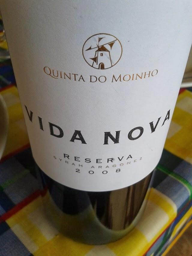 Vida Nova Syrah Aragonês Reserva 2008 - reservarecomendada.blogspot.pt