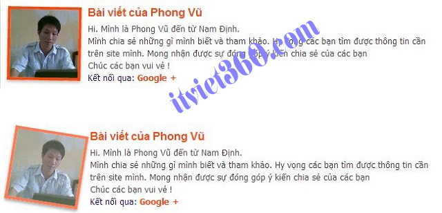 Phong Vu computer, vi tính Phong Vũ, authors blogspot