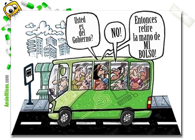 Chiste de la Crisis: Gobierno con la Mano en el Bolso