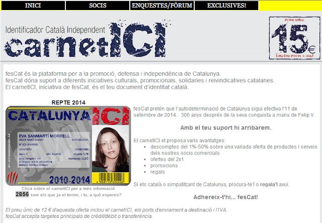 Document nacional d'identitat a Tàrrega
