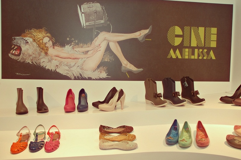 Melissa Shoes, AW CINE collection, launch party, Sydney Australia