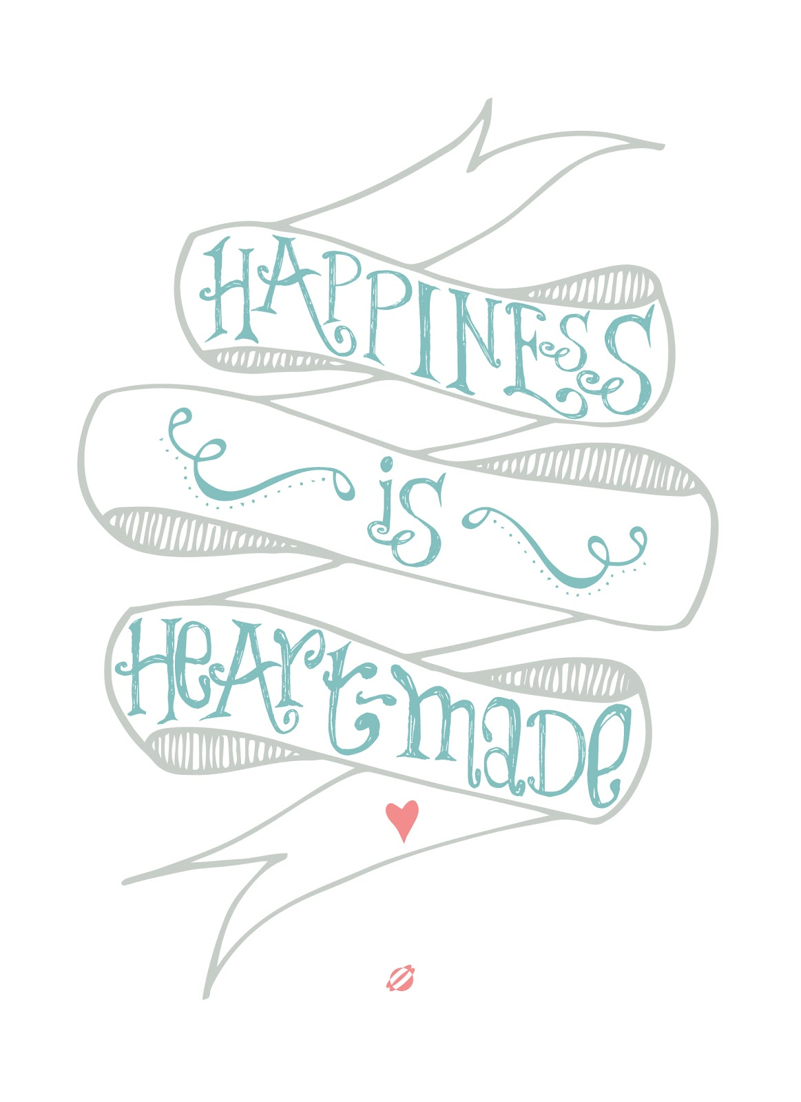 LostBumblebee ©2014 Happiness is Heart-Made! Free Printable- Personal Use Only!