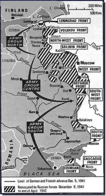 The Eastern Front December 5, 1941 April 1942