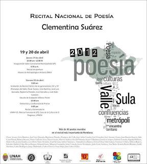 Recital de poesia Clementina Suarez