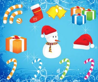 Pack de vectores navide os para dise ar tarjetas de navidad - Disenar tarjetas de navidad ...