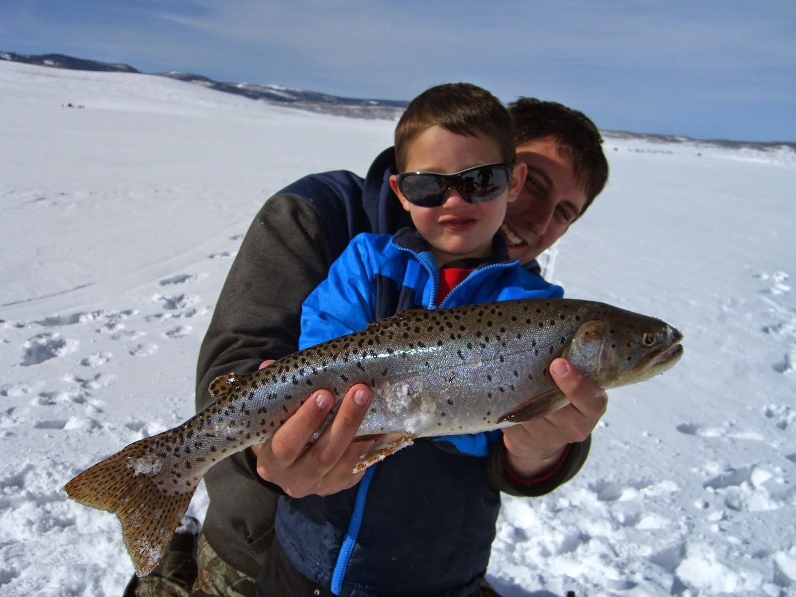 Utah fisherman winter fishing season 2015 for Strawberry reservoir fishing